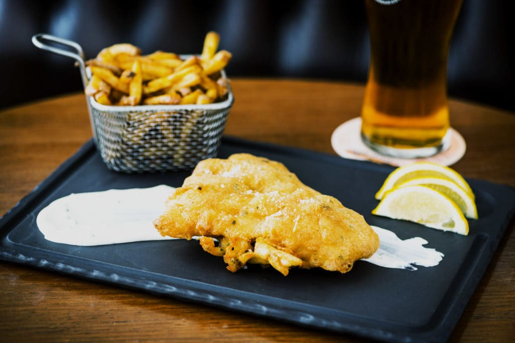 Watson's Pub - Le fish and ships fait maison